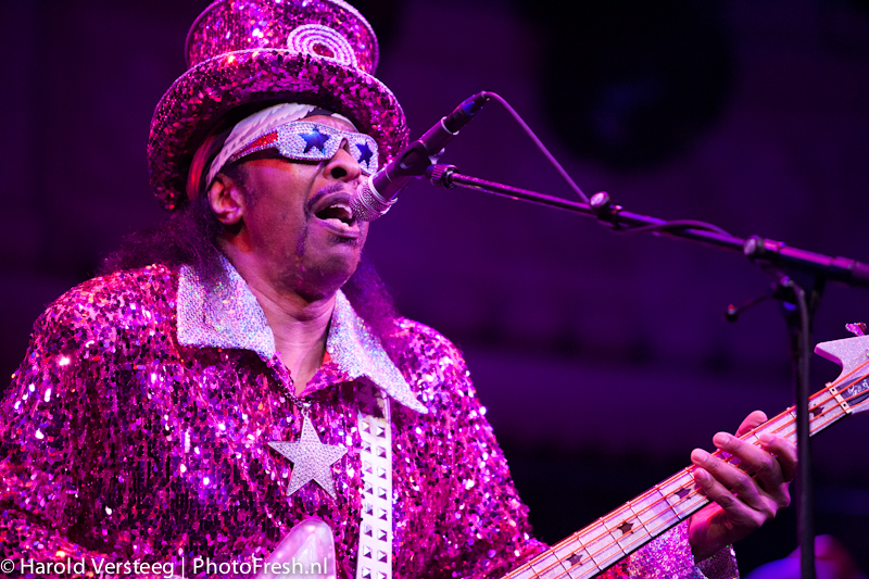 20140221 Bootsy Collins at Paradiso Amsterdam, The Netherlands