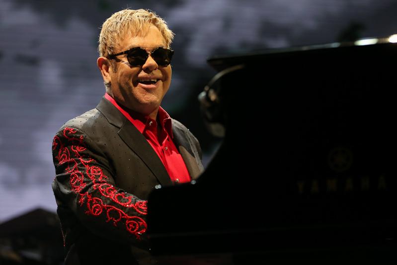 Singer Elton John in ZiggoDome Amsterdam, the Netherlands [fotocredit Harold Versteeg | PhotoFresh.nl]
